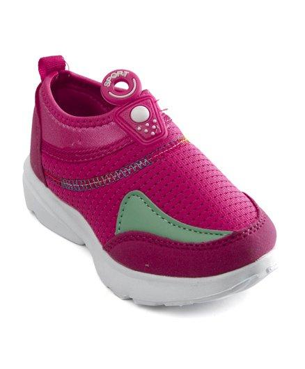 Cute Walk by Babyhug Sports Shoes - Fuchsia