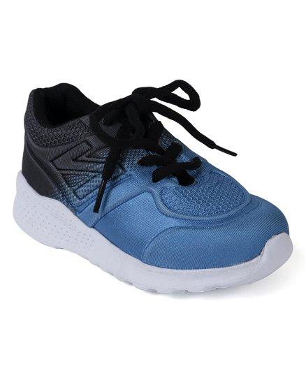 Cute Walk by Babyhug Sports Shoes - Blue Black
