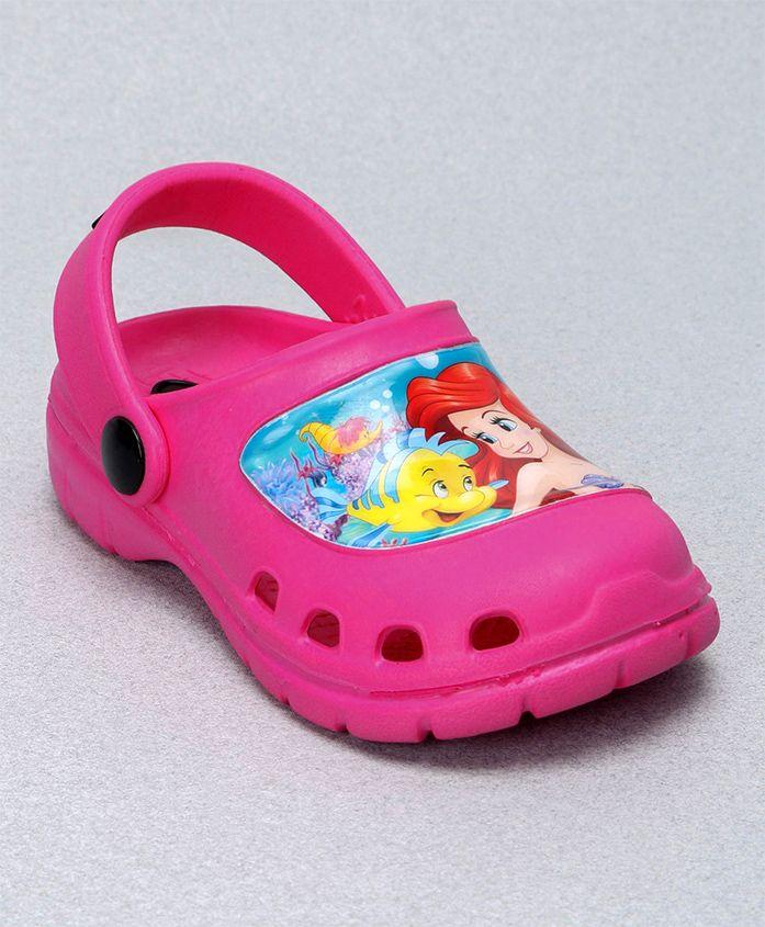 Cute Walk by Babyhug Clogs Ariel Design - Pink