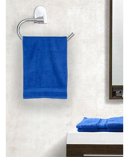 EuroSpa Premium Cotton Bath Towel - Blue