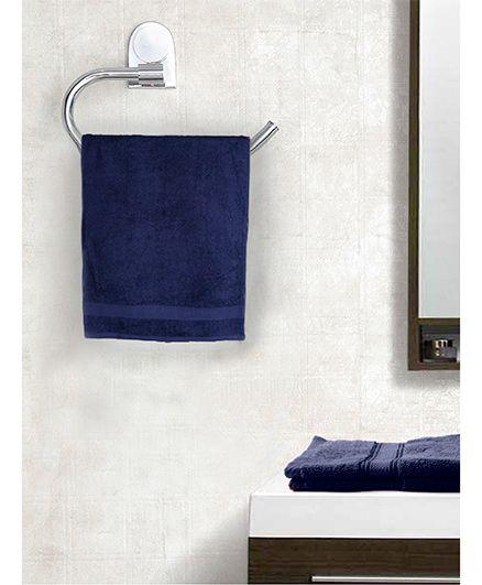 EuroSpa Premium Cotton Bath Towel - Royal Blue