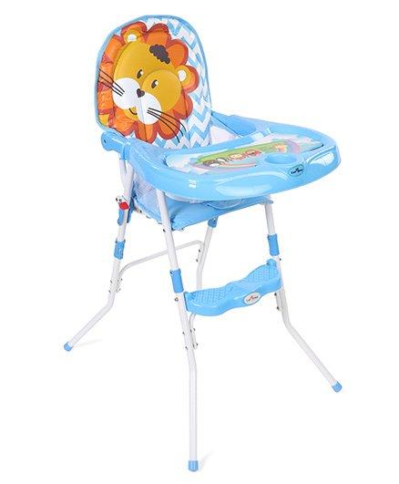1st Step High Chair Lion Print - Blue