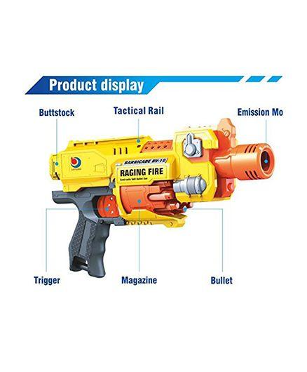 Toyshine Foam Blaster Gun Toy - Yellow