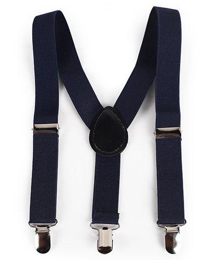 Babyhug Y Shape Suspenders - Navy Blue