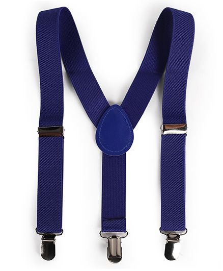 Babyhug Y Shape Suspenders - Blue