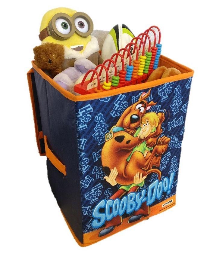 Scooby Doo Storage Box Big Character Print - Blue