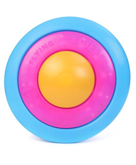 Speedage Flying Saucer - Blue Pink & Yellow