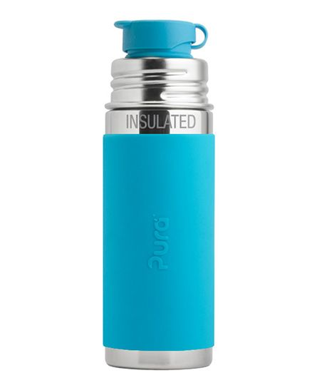 Pura Insulated Stainless Steel Sports Bottle Blue - 260 ml