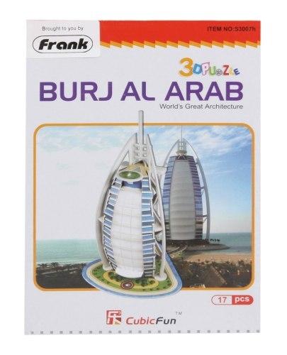 Frank - 3D Puzzle - Cubic Fun - Burj Al Arab