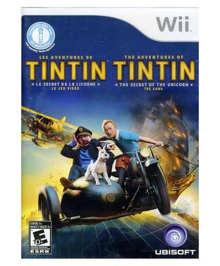 Nintendo - Wii ADVENTURES OF TINTIN