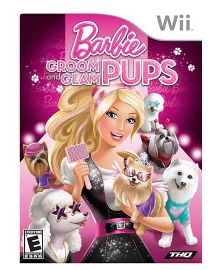 Nintendo - Wii Barbie Groom And Glam Pups