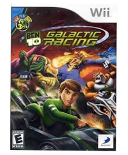 Nintendo - Wii BEN 10 GALACTIC RACING