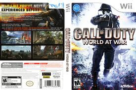 Nintendo  - Wii Call Of Duty World At War  Game