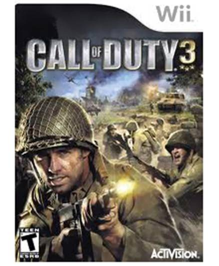 Nintendo - Call Of Duty 3 Games Wii