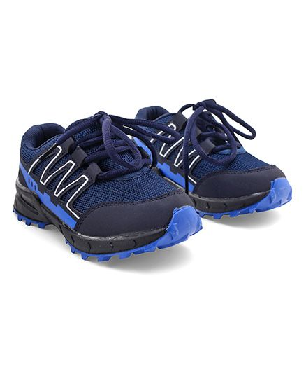 Cute Walk by Babyhug Lace Up Sports Shoes - Blue