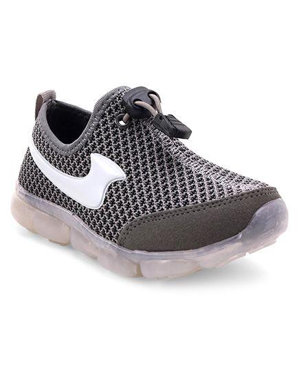 Cute Walk by Babyhug Slip On Sports Shoes - Grey