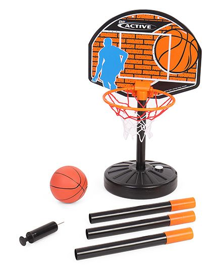 Simba Basketball Kit - Black Orange
