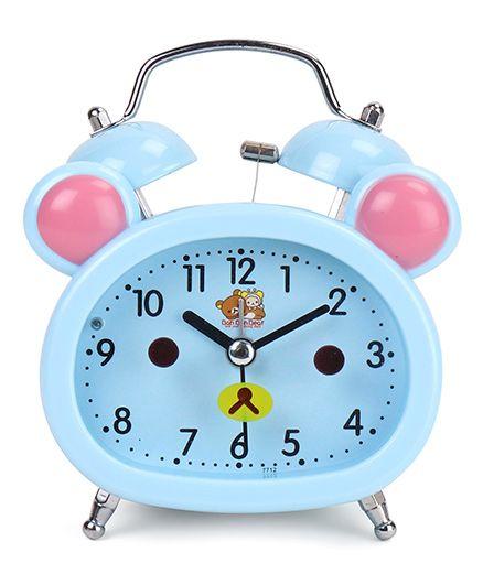 Dual Bell Alarm Clock - Sky Blue