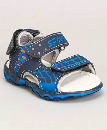 Cute Walk by Babyhug Sandals Sport Print - Blue