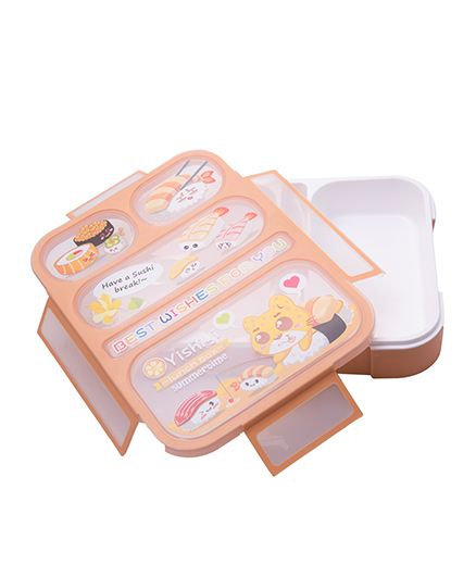 Kidofash Bento Lunch Box - Orange