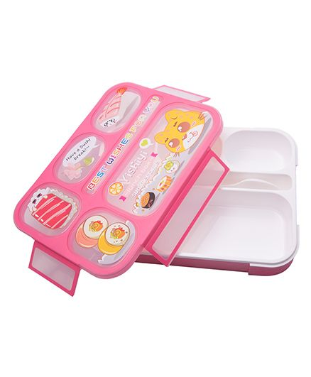 Kidofash Bento Lunch Box - Pink