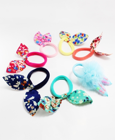 Milyra Combo Of Rubber Band - Multicolor