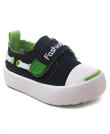 Cute Walk by Babyhug Velcro Canvas Casual Shoes - Navy
