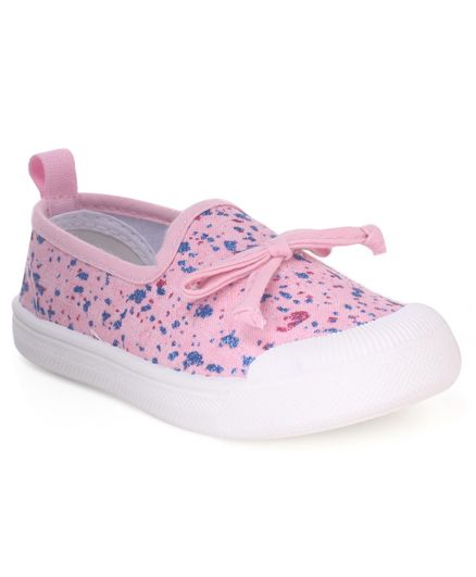 Cute Walk by Babyhug Slip On Canvas Casual Shoes - Pink