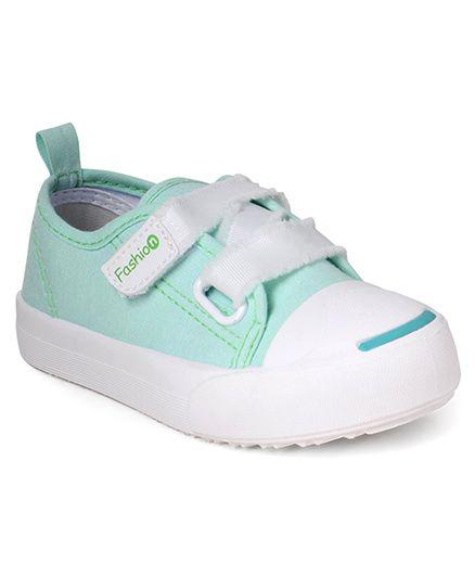 Cute Walk by Babyhug Canvas Casual Shoes - Sea Green