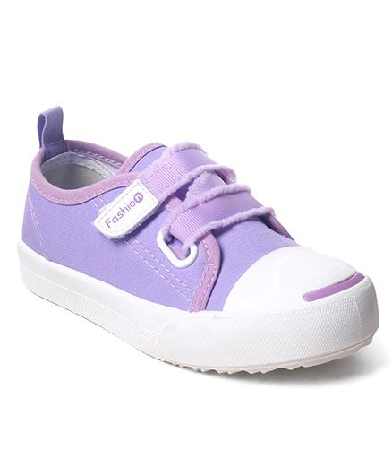 Cute Walk by Babyhug Canvas Casual Shoes - Purple
