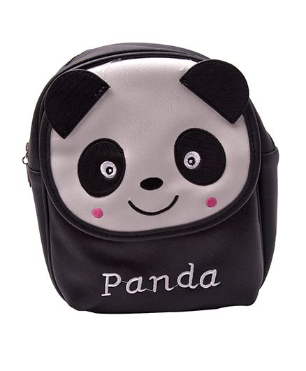 Kidofash Panda Design Bag - Black