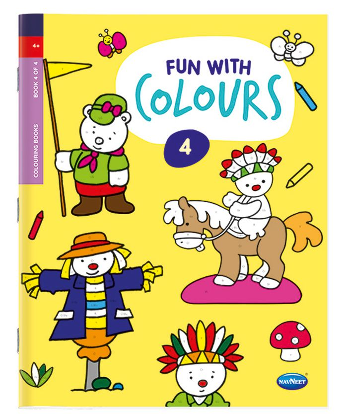 Fun With Colours Book 4