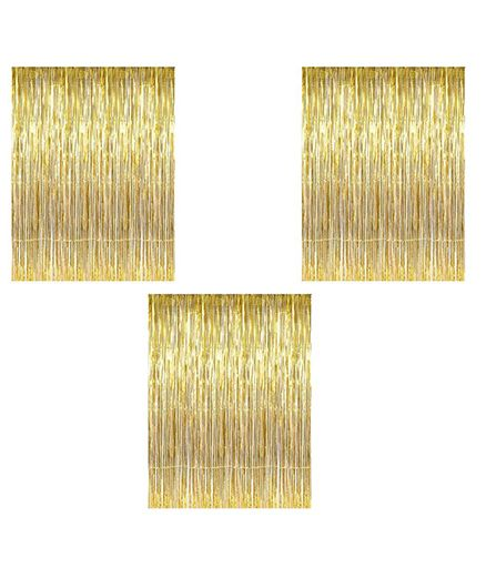 Party Propz Minions Birthday Decoration Set Golden & Multicolor - 38 Pieces