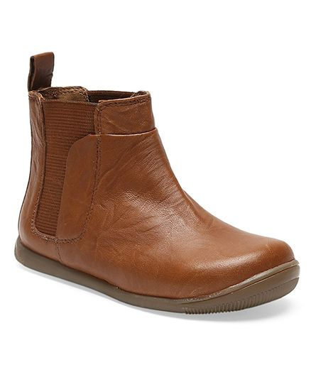 Teddy Toes Champ Boots - Tan