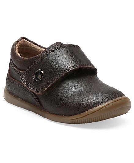 Teddy Toes Mars Formal Shoes - Brown