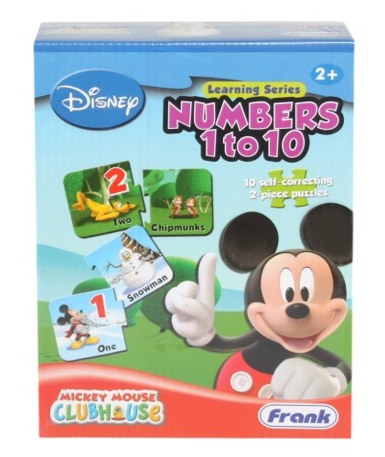 Frank - Puzzle - Mickey Mouse Club House - Numbers 1 to 10