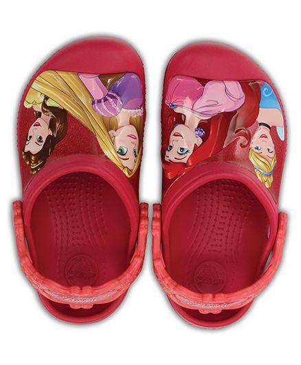 Crocs Dream Big Princess Clogs - Raspberry Pink