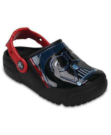 Crocs FuLab Lights Darth Vader Clogs - Black