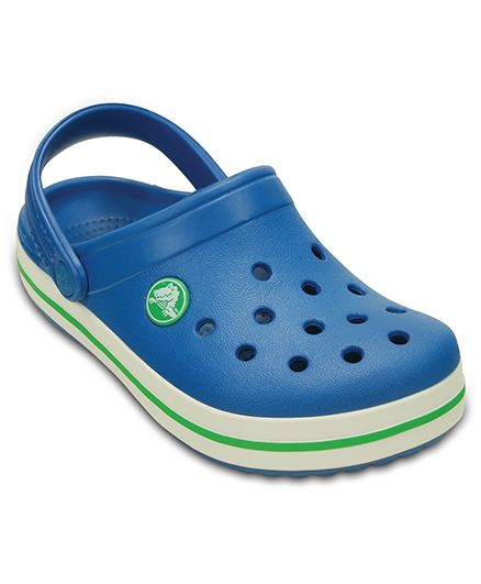 Crocs Solid Band Clogs - Ultramarine