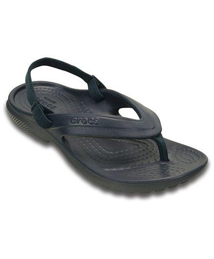 Crocs Classic Flip Flop - Navy Blue