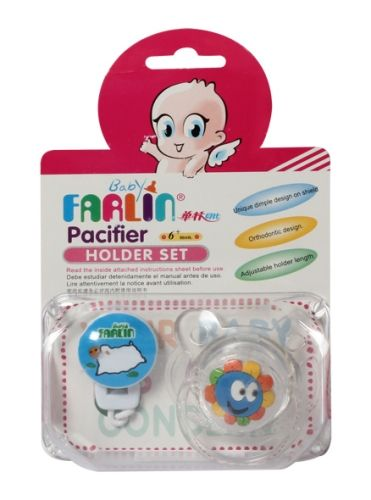 Farlin - Pacifier Holder Set
