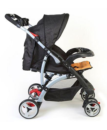 Sports Baby Stroller T281 - Black/Orange