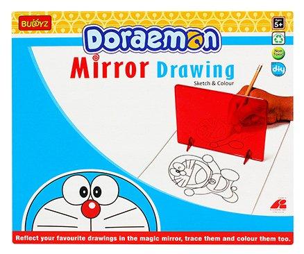 Doraemon Mirror Drawing