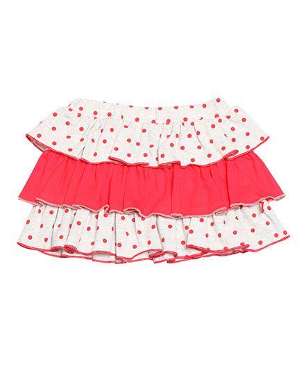 Nino Bambino Layered Skirt - Pink