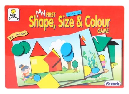 My First Shape, Size & Color Game - Puzzle