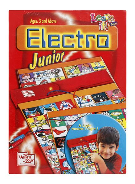 United Toys Electro Junior Cards Learn It Series