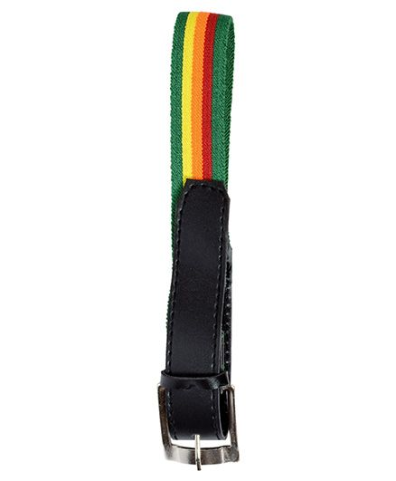 Miss Diva Stripe Belt - Green