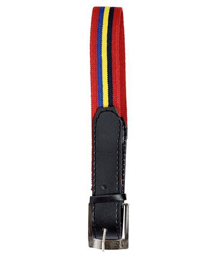 Miss Diva Stripe Belt - Red