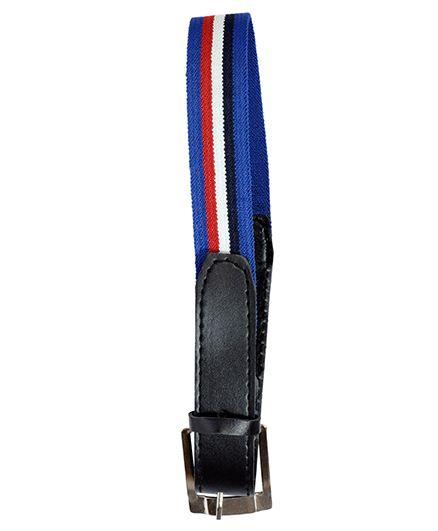 Miss Diva Stripe Belt - Blue