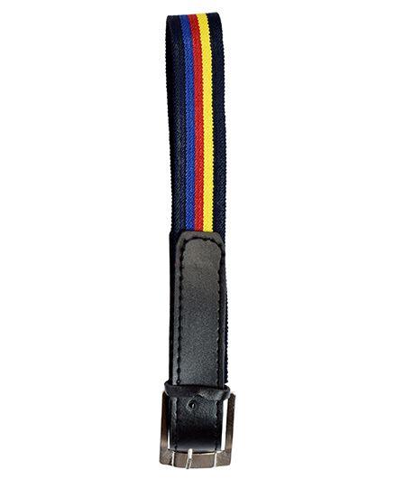Miss Diva Stripe Belt - Black
